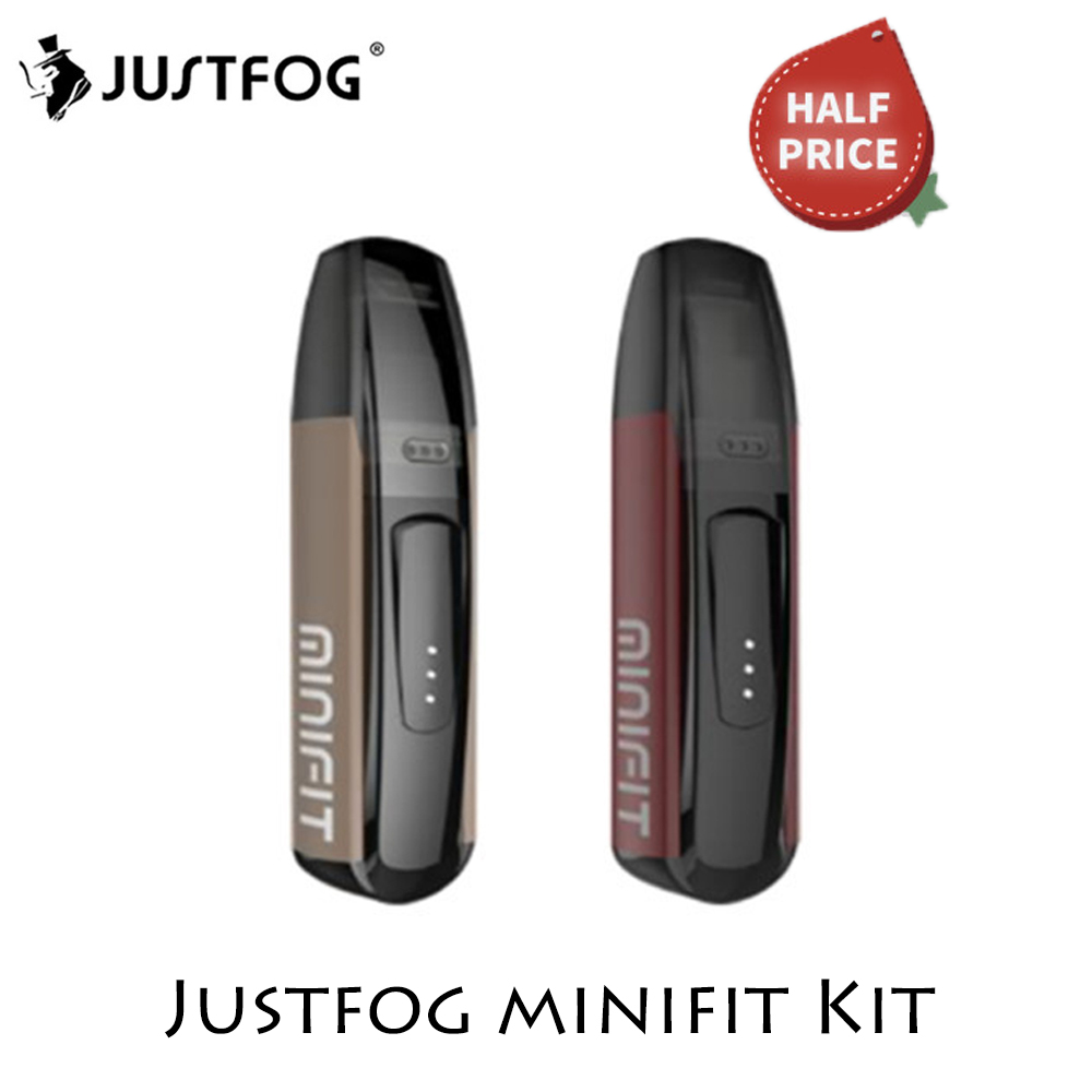 Justfog Minifit Starter Kit Minifit Pod Vape Kit 370mAh Battery 1.5ml Capacity E Cigarette Vape Kit