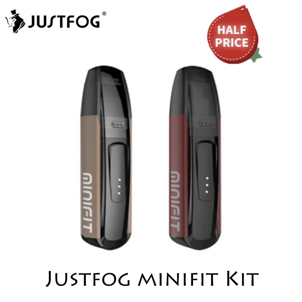 Justfog Minifit Starter Kit Minifit Pod Vape Kit 370mAh Battery 1.5ml Capacity E Cigarette Vape Kit