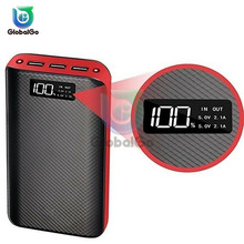 9600mAh 3 USB Power Bank Portable External Battery With LED Fast Charging Portable Powerbank Charger For Phone Flashlight 50000mah power bank typec micro usb qc fast charging powerbank led display portable external battery charger