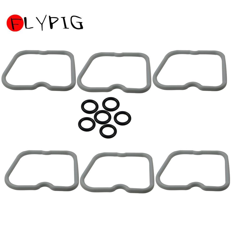 FLYPIG Hot Selling New Replacements 3902666 Set Of 6 Valve Cover Gaskets For Dodge Cummins 12 V 5.9L 12V 6BT 5.9|Valves & Parts| |  - title=