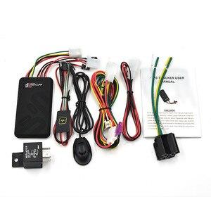 Image 5 - GT06 سيارة صغيرة لتحديد المواقع المقتفي SMS GSM جي بي آر إس مركبة نظام تتبع على الانترنت رصد جهاز التحكم عن بعد إنذار للدراجات النارية + ميكروفون