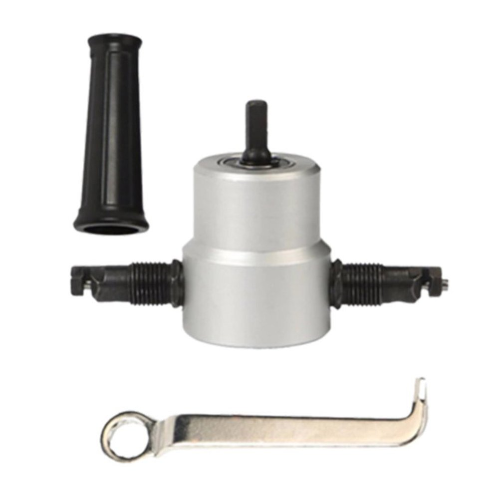 160A Double-Head Metal Sheet Cutter Cutting Machine Metal Cutting Electric Punching And Shearing Sound Transformation