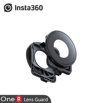 Oryginalny obiektyw osłony akcesoria do Insta360 One R 5 7k 360 Edition obiektyw Mod szklana osłona tanie i dobre opinie Osłona obiektywu
