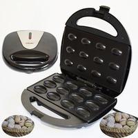 Mini home nut maker 220V nut maker frying pan cake maker Sandwich Iron Toaster Baking Breakfast Pan Oven EU plug