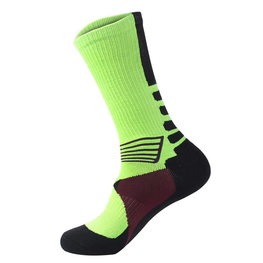 Cycling Socks Knee-High Professional Bicycle Compression Stocking Breathable Outdoor Sport Footwear Protect Running Socks BC0226 (14)