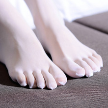 Woman five finger stockings pantyhose sexy crotchless pantyhose women's 5 fingers separate Toe pantyhose breathable thin tights