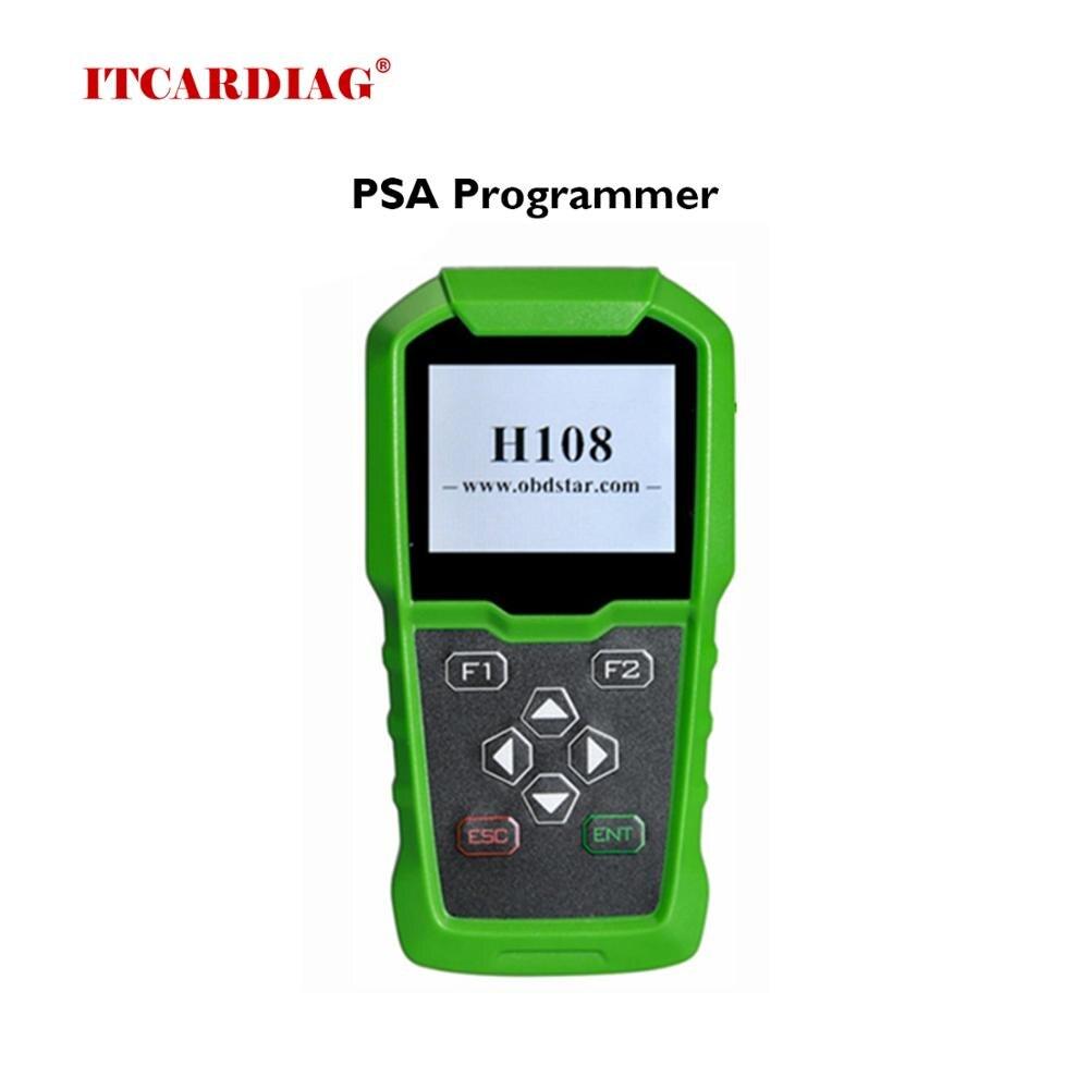 Dla Peugeot Citroen DS klucz programujący OBDSTAR H108 PSA programista obsługuje wszystkie utracone klucze/kod pin odczyt/korekta licznika