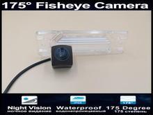 175 Degree 1080P Fisheye Lens Car Rear view Camera For Renault Koleos 2009 2010 2011 2012 2013 2014 Parking Reverse