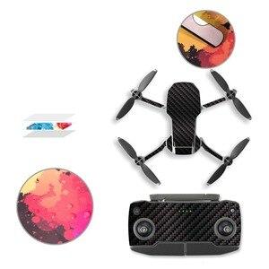 Image 5 - 6 Pcs Mavic Mini Drone Protective Film PVC Stickers Waterproof Scratch proof Decals Cover Skin for DJI Mavic Mini Accessories
