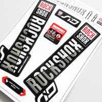 ROCK SHOX SID 2018-pegatinas de horquilla delantera para bicicleta, calcomanías impermeables para ciclismo, protección solar, envío gratis