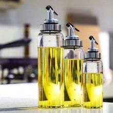 Кухонная приправа, бутылка с дозатором, бутылка для соуса, стеклянная бутылка для хранения масла и уксуса, Креативные кухонные инструменты, аксессуары