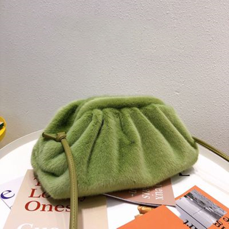 IMYOK 2019 Autumn And Winter New Korean Women Bag Cloud Dumplings Luxury Hand Bags Ladies Shoulder Bag Female Sac A Main Femme