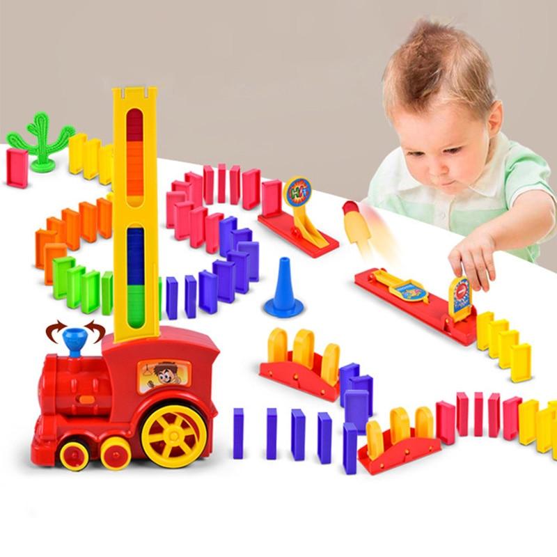 60 шт., детский игрушечный автомобиль «домино»