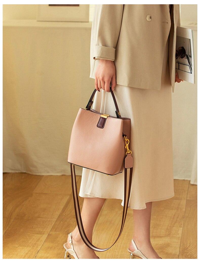 saco redondo das mulheres alta qualidade elegante