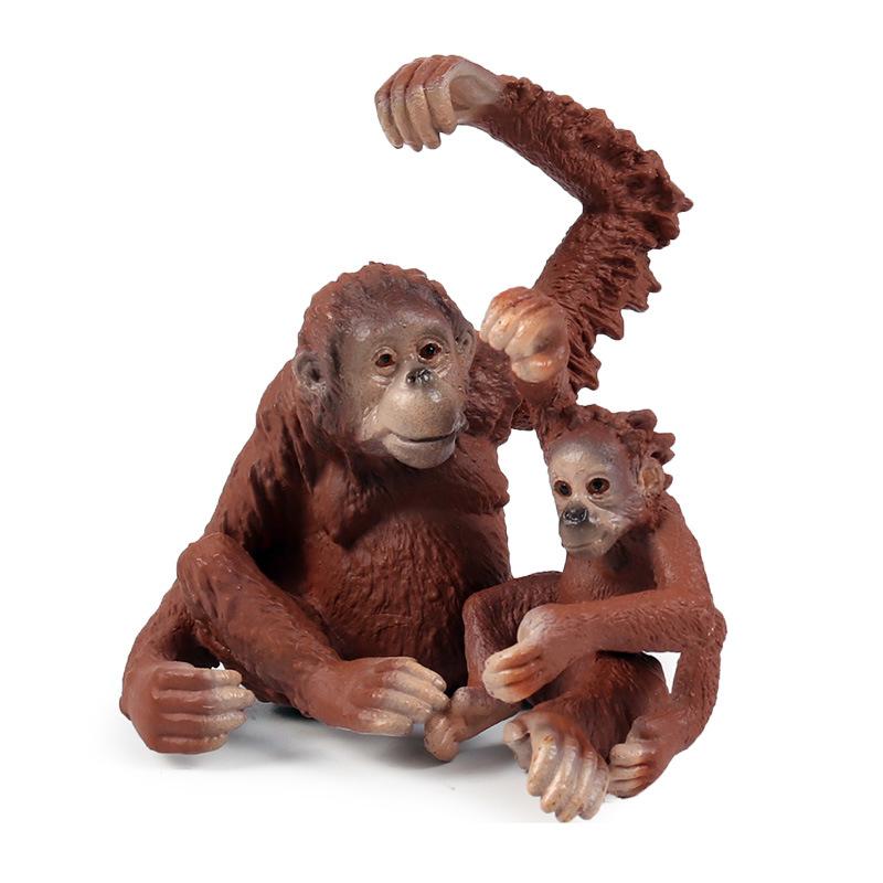 Gorilla Monkey Singe Animal Sauvage En Caoutchouc mains accessoire robe fantaisie accessoire