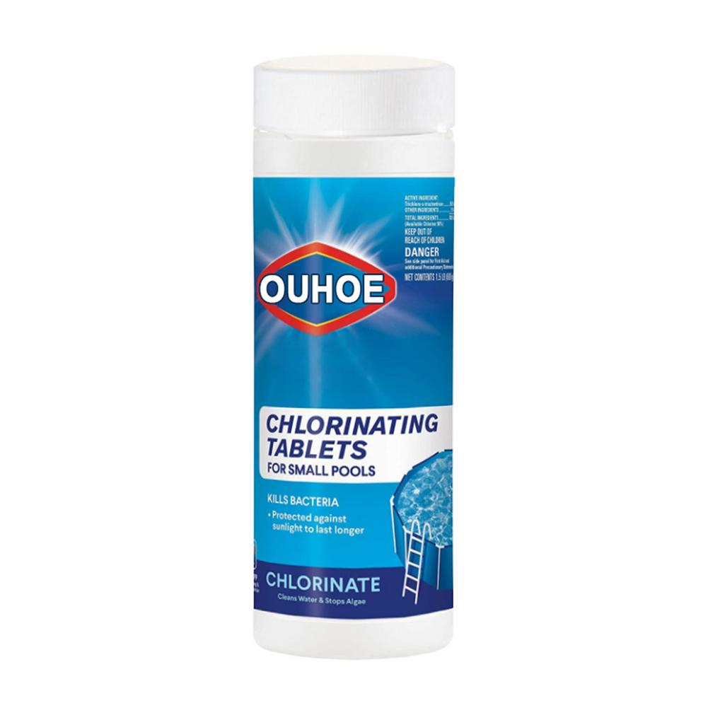 Swimming Pool Cleaning Tablets For Pools  Purify Water Chlorine Pills Instant Effervescent Foaming Cleaners