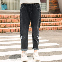 Get more info on the Kids Black Jeans For Girls Teenagers 2019 Spring Autumn Straight Kids Denim Pants Casual Teens Jeans Trousers Denim Trausers