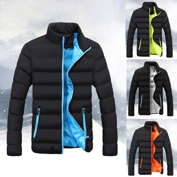 Winter Jacket Men Warm Softshell Slim Hunting Clothes Fit Thick Bubble Coat chaquetas hombre Casual