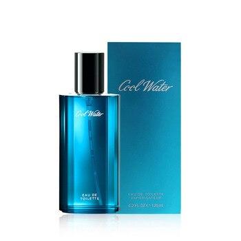 Perfume For Men 125ML Long Lasting Fresh Eau De Toilette Original Parfum Cold Water Men's Cologne Spray Glass Bottle Fragrances