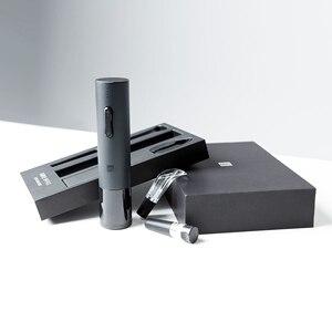 Image 4 - Автоматический штопор Huohou, Электрический штопор с резаком для фольги, насадка аэратор для вина, Подарки Для Семьи
