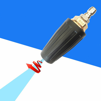 4.0 GPM 3600PSI Turbo Rotating Spray Nozzle 360 degrre Rotating Turbo ,for Pressure Washer with 1/4