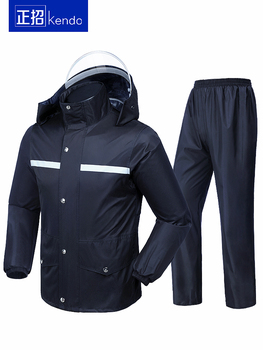 Waterproof Pants Raincoat Jacket Adult Set Plastic Outdoor Hooded Raincoat Survival Thick Chubasquero Hombre Travel Coat JJ60YY