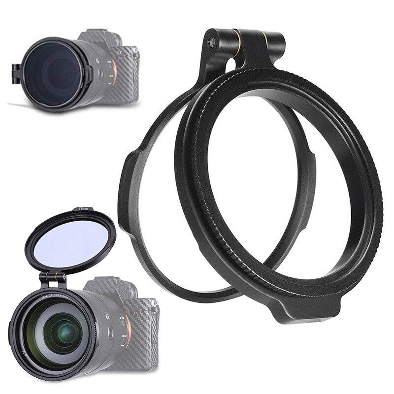 ND 49 мм 58 мм 67 мм 72 мм 77 мм 82 мм быстросъемный переключатель держатель объектива фильтр для DSLR камеры кронштейн объектива для фотосъемки