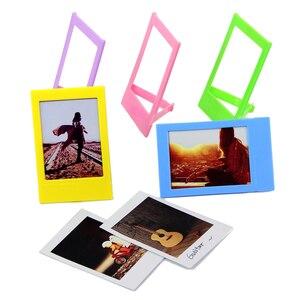 Image 5 - Besegad 8 in 1 Durchführung Kamera Tasche Objektiv Filter Rahmen Fotoalbum Aufkleber Clips Hanf Seile Kit Für Fujifilm Instax mini 8 8 + 9
