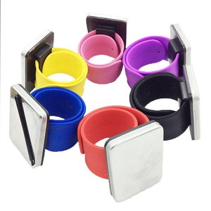 Styling Tools Beauty Salon Wrist Band Hairpin Card Magnet Pat Ring Shape Watch With Hair Clips Hairpin