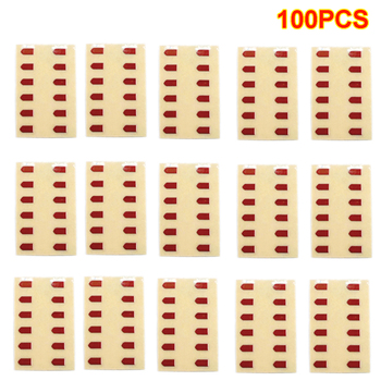 100Pcs Metal Stickers for LH Vector Gen.2 - Red