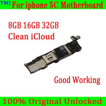 Bez simlocka dla iphone #8217 a 5C płyta główna z czysty iCloud 100 oryginalny dla iphone 5C płyta główna z system ios darmowa wysyłka tanie i dobre opinie for moible motherboard For iphone 5C Wewnętrzny Apple iphone Original unlocked Disassembly used 8GB 16GB 32GB Full QC Tested