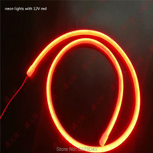 12V Round torch belt LED strip 1meter white warm white red blue green pink  golden 360 degree luminous tube 1M/lot