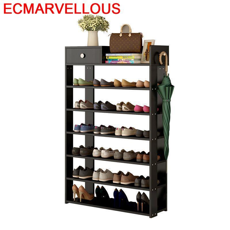 Sepatu Closet Sapateira Armario Meuble Rangement Shabby Chic Organizer Furniture Zapatero Organizador De Zapato Mueble Shoe Rack in Shoe Cabinets from Furniture