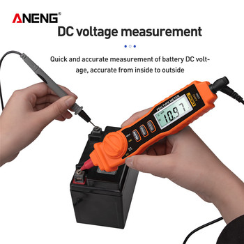 ANENG A3002 Digital Multimeter Pen Type 4000 Counts with Non Contact AC/DC Voltage Resistance Diode Continuity Tester Tool - discount item  29% OFF Measurement & Analysis Instruments