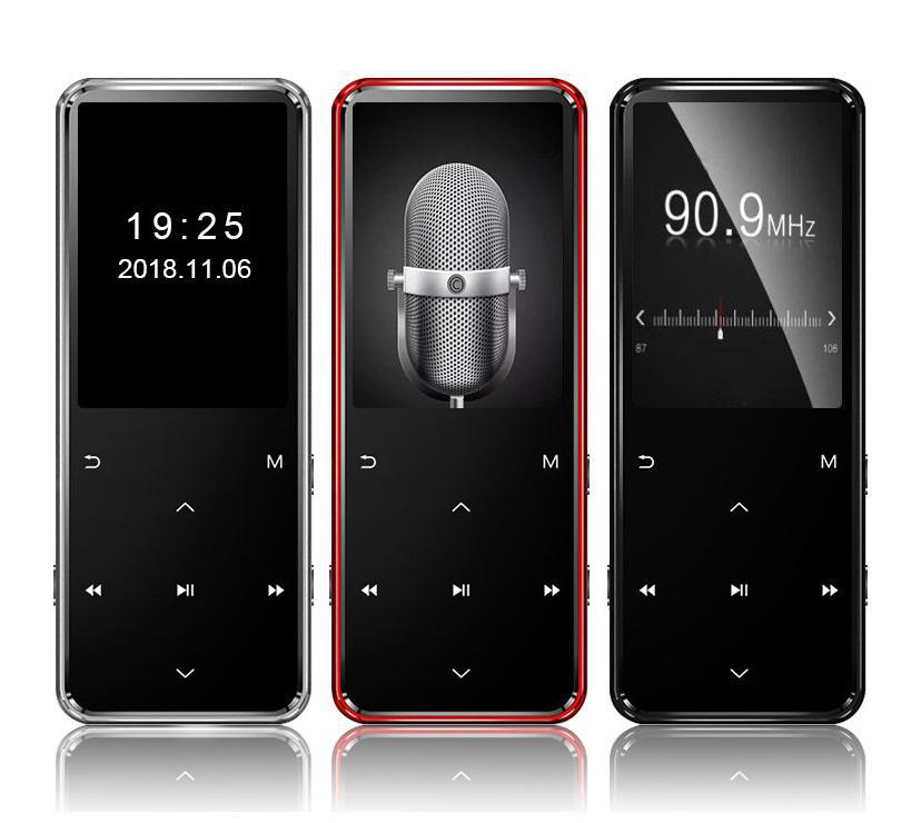 MP4 <font><b>player</b></font> mit bluetooth lecteur musik <font><b>player</b></font> portable <font><b>mp</b></font> <font><b>4</b></font> media dünne 1,8 zoll touch tasten fm radio video Hifi TFT bildschirm image