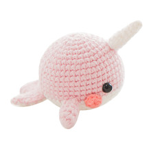 Baby Girls Boys Photography Prop Crochet Knit Toy Cute Whale crochet Stuffed animals Handmade Knitted Toy (finished product)