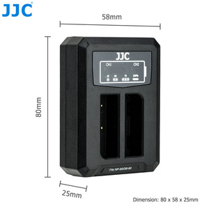 Image 5 - JJC USB Sạc Pin Đôi Cho Máy Ảnh Fujifilm NP 95 NP95 RICOH DB 90 Pin Trên Máy Ảnh Fuji XF10 X100T X100S X100 Thay Thế BC 65N