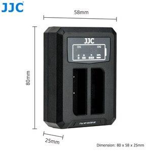 Image 5 - 후지 필름 NP 95 NP95 용 JJC USB 듀얼 배터리 충전기 후지 DB 90 배터리 후지 XF10 X100T X100S X100 대체 BC 65N