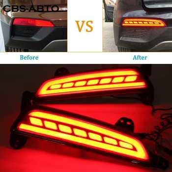 La CBS Hyundai Creta ix25 2015-2017 luz trasera parachoques de la luz de freno trasera luz LED reflectora niebla conducción lámpara estilo de coche