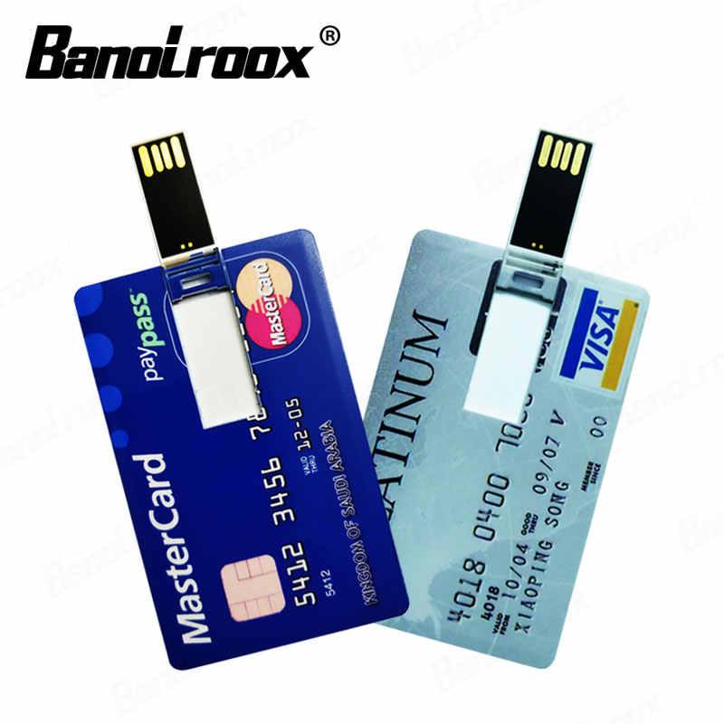 フラッシュusb信用銀行カードペンドライブ 8 ギガバイト 16 ギガバイト 32 ギガバイト 64 ギガバイトのusbフラッシュドライブ 128 ギガバイトhsbcアメリカン · エキスプレスメモリスティックカードペンドライブ