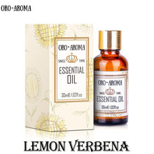 Słynna marka oroaroma lemon verbena oil pielęgnacja skóry twarzy spa wiadomość lampa zapachowa aromaterapia lemon verbena essential oil
