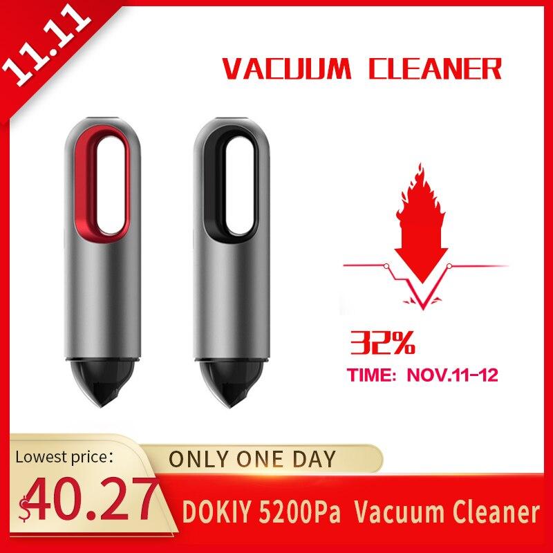 DOKIY 5200Pa сильный ручной автомобильный пылесос беспроводной влажный сухой очиститель USB зарядное устройство автомобильные аксессуары авто б