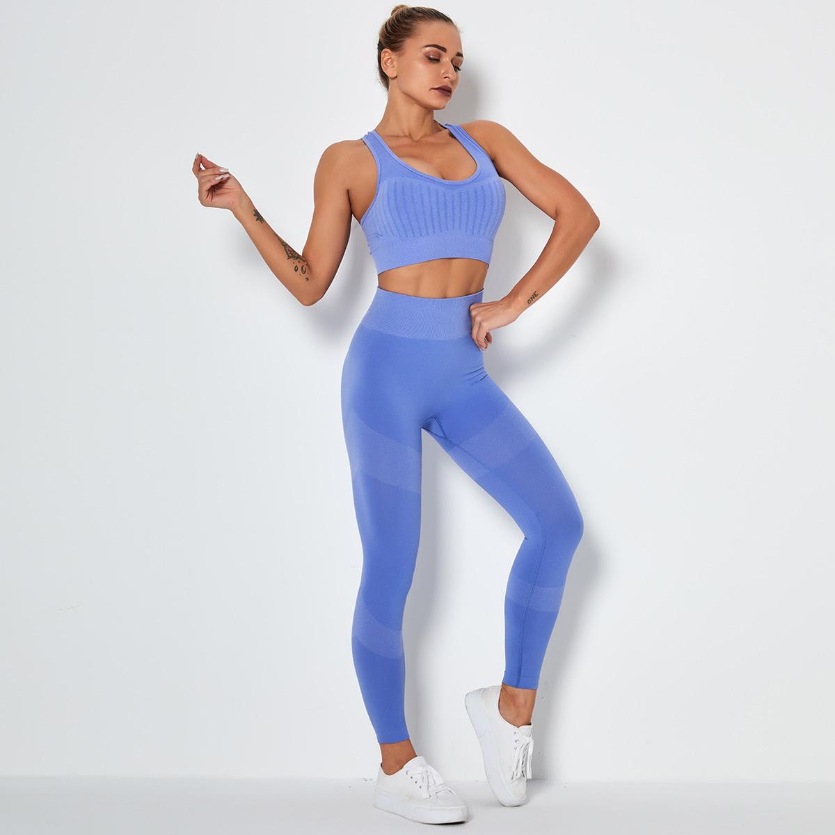 Leggings and Tops Sportswear Set