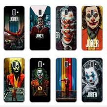 2019 horror movie Joker Joaquin Phoenix Phone Case For Samsung Note 10 Pro J4 J6 Plus 2018 J3 J5 J7 2016 2017 Soft TPU Cover Cap(China)