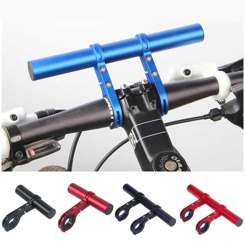 Fahrrad Taschenlampe Halter Lenkstangen Licht Verlängerungs Lenker Halterung