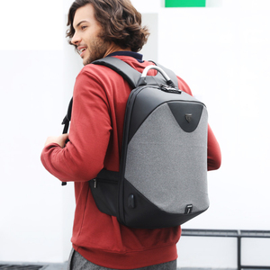 Image 5 - Arctique HUNTER école 15.6 sac à dos pour ordinateur portable hommes imperméable Mochila décontracté voyage affaires USB sac à dos mâle sac Anti vol cadeau