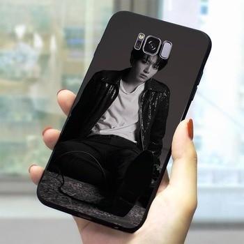 Jungkook Kpop cubierta del teléfono para Samsung Nota 9 caso Galaxy S6 S7 borde S8 S9 S10 más S10e Nota 8 m10 M20 M30 suave TPU