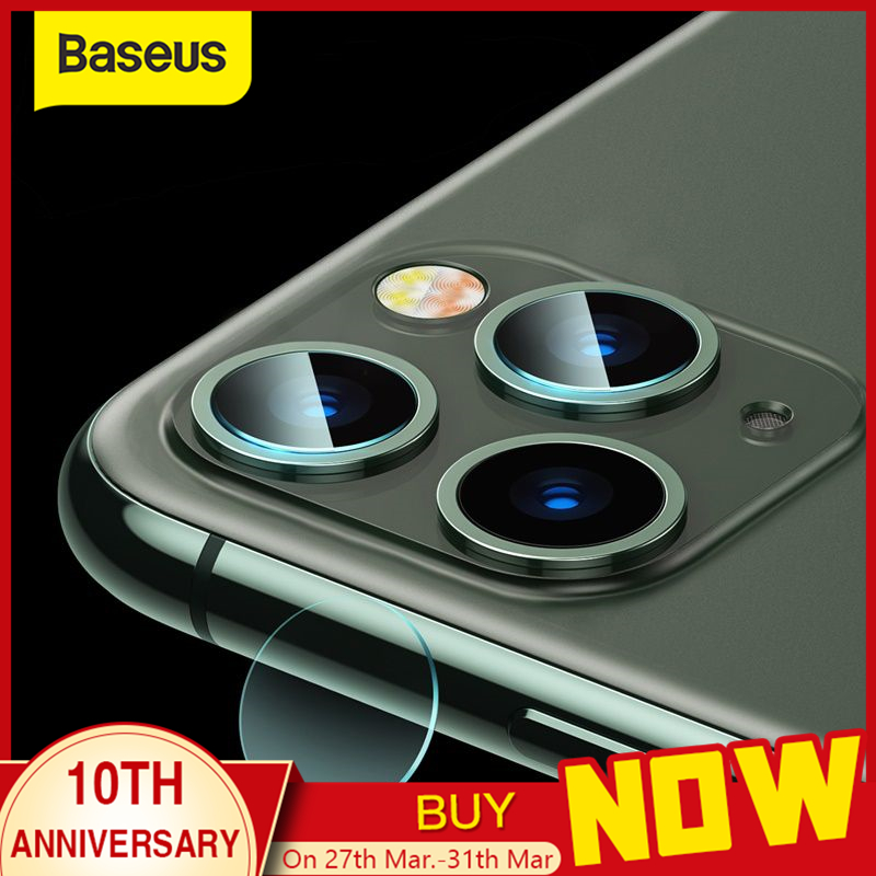 Baseus 0.15mm Back Camera Lens Protector For IPhone 11 Pro Max Tempered Glass Lens Glass For IPhone X XS Lens Protection Film
