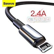 Cavo USB Baseus per iPhone 12 pro max 11 X XS cavo dati ricarica rapida per iPhone 8 7 6 6s plus cavo iPad cavi caricabatterie mobili