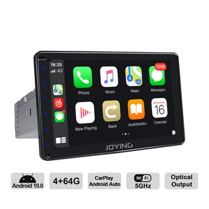 Image 2 - JOYING Android 10.0 Single din Car Radio Player 7/8/9 inch stereo head unit Octa Core 4GB RAM&64GB RAM Support 4G DSP Carplay HD